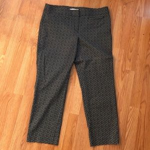 Ann Taylor Loft Crop Pants